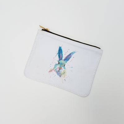 """Mr Bunny"" Large Coin Pouch"