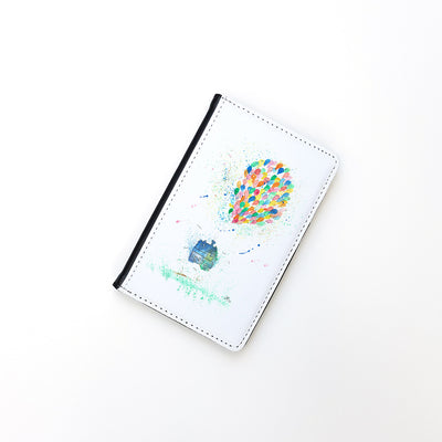 """Balloon House"" Passport Holder"