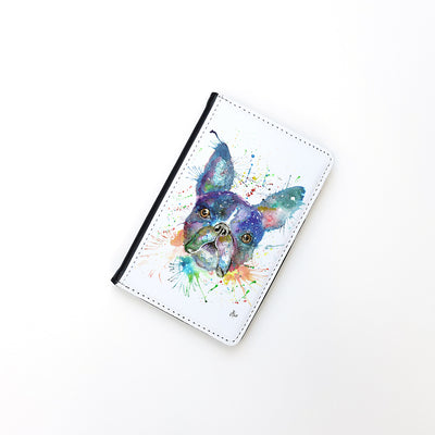 """Bruno Boston Terrier"" Passport Holder"