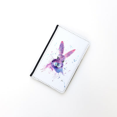 """Berry Hare"" Passport Holder"