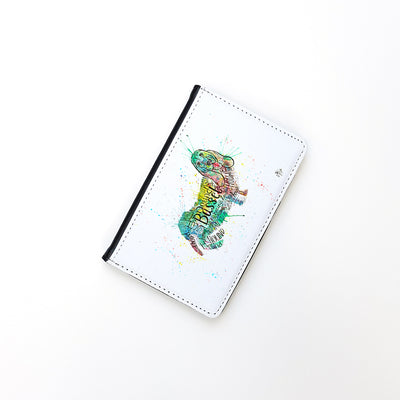 """Basset Splash"" Passport Holder"
