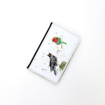 """Blackbird & Robin"" Passport Holder"