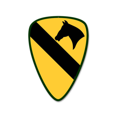 1st Cavalry Division Sign