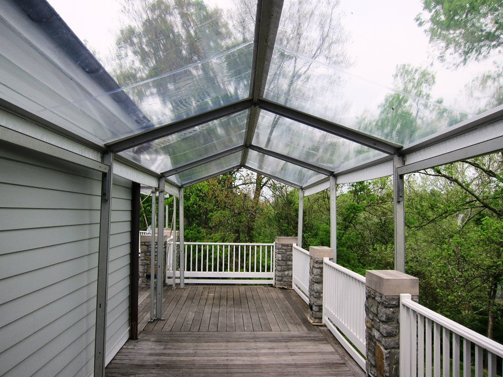 Walkway Clear Tents