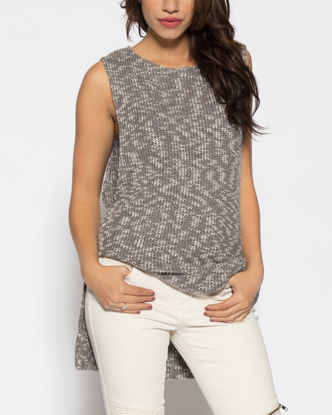 Grayson Sweater- Grey