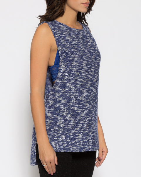 Grayson Sweater- Blue