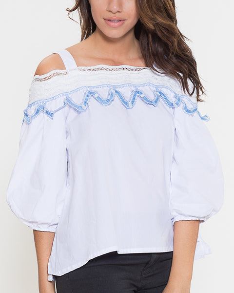 Katie Top- White