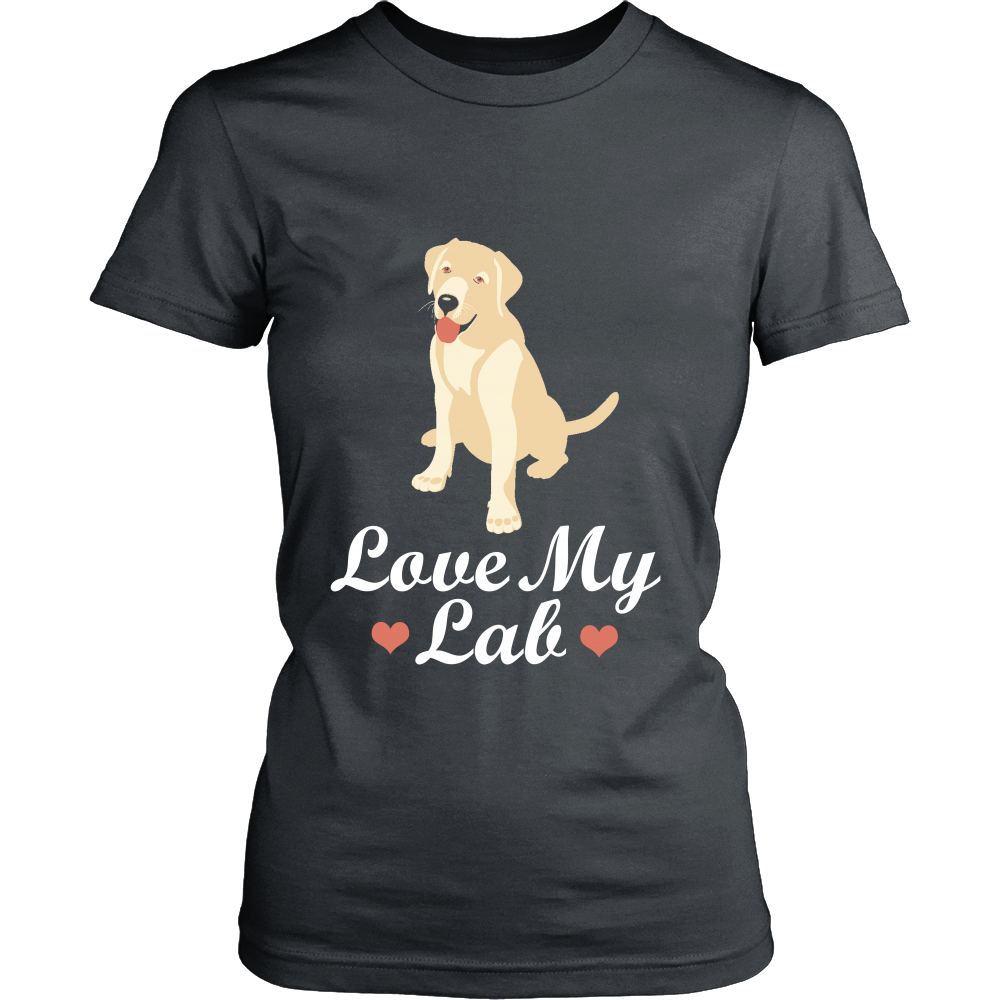 FunkyShirty LOve my Lab (Women)  Creative Design - FunkyShirty