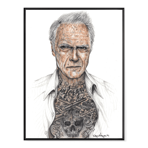 INKED Eastwood - Poster