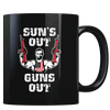 Suns Out Guns Out - Coffee Mug