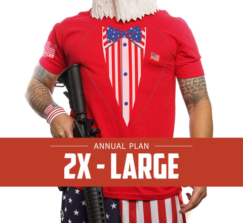 Mens 2XL - Annual