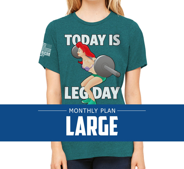 Womens Large - Monthly