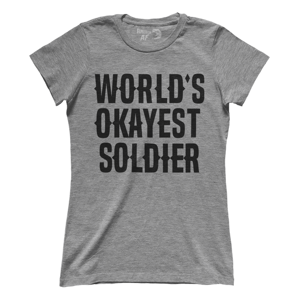 World's Okayest Soldier (Ladies)