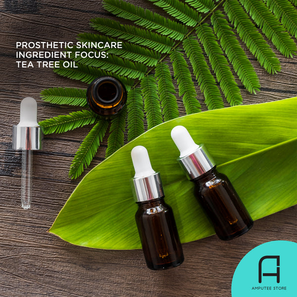 The tea tree oil is a prosthetic skincare ingredient favorite.