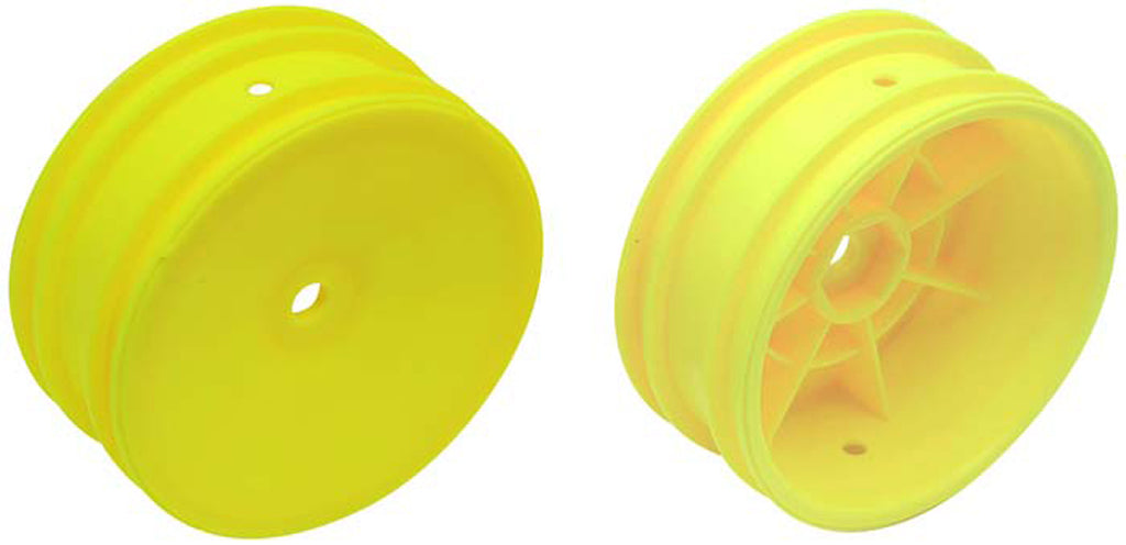 ASC9691 9691 2 Front Buggy Wheels - Yellow
