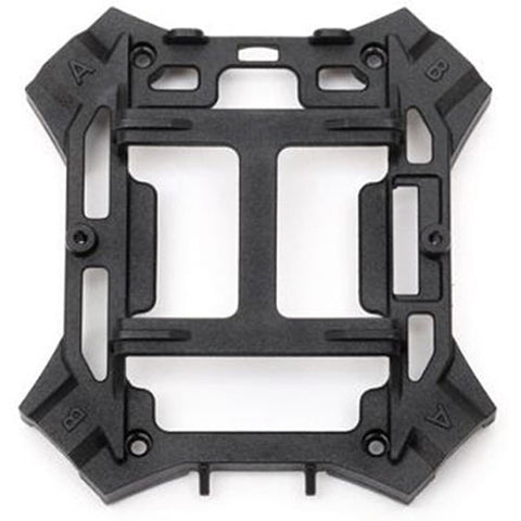 Traxxas Main Lower Frame-Black & Screws, 6624