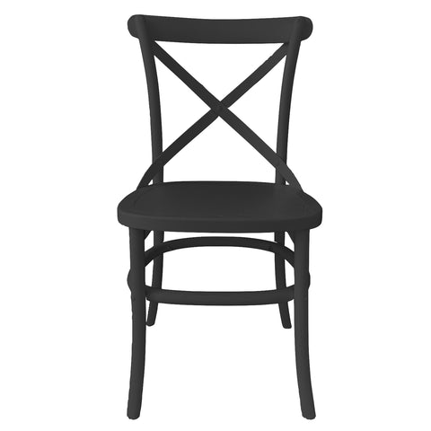 Croix Dining Chair Black Finish