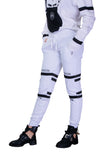 Hexagon Joggers white