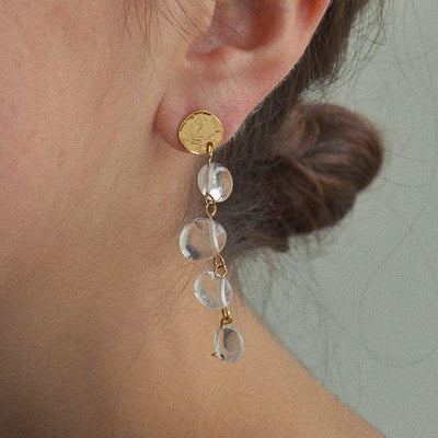 Boucles Yoshana - Crystal