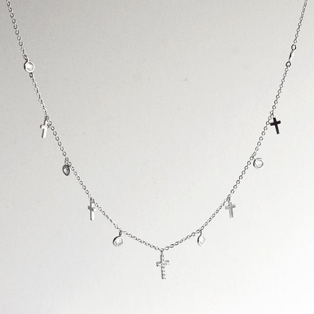 Collier Layla - Argent