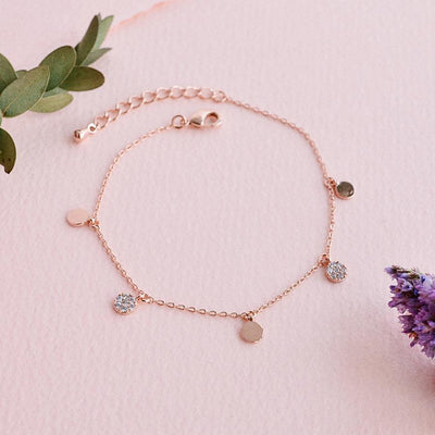 Bracelet Ellya - Or Rose
