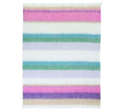 This Girl Luxury Mohair Blanket  -  Blankets and Weaves - 1