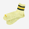 Anonymous Ism - 3 Line Slub Quarter Socks - Beige
