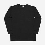 3Sixteen - Long Sleeve Heavyweight Pocket T-Shirt - Black