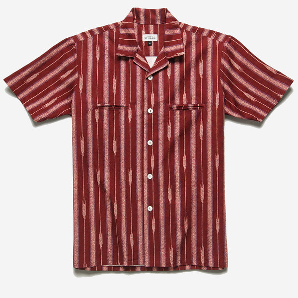 House of St. Clair - Souks Vacation Shirt - Saffron Yarn Dyed