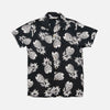 3Sixteen - Vacation Collar Short-Sleeve Shirt - Black Pineapple Rayon