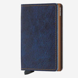 Securid - Slim Wallet - Indigo 5 Leather