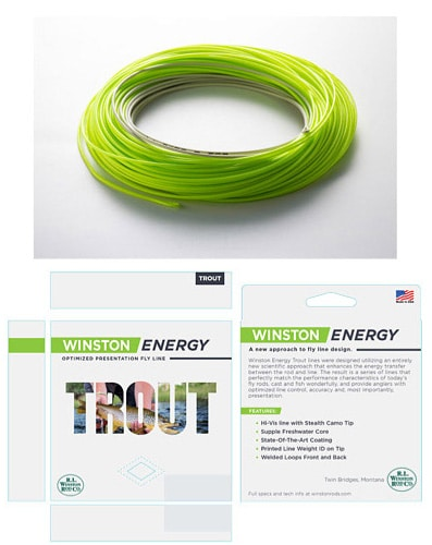 Winston Energy Fly Lines
