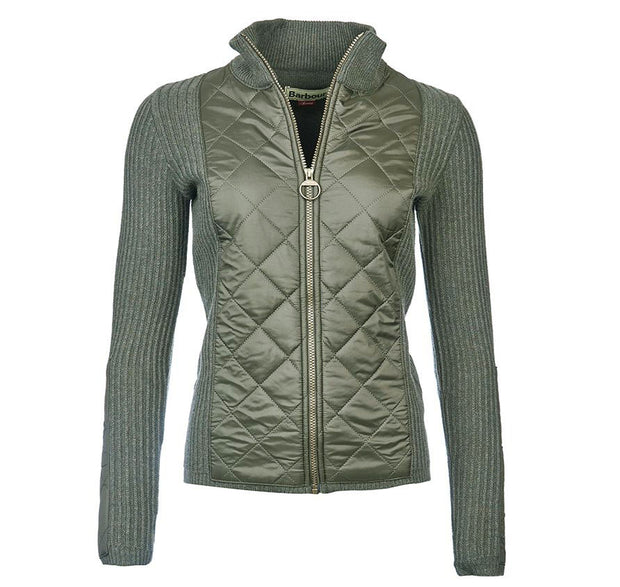 Barbour Women's Sporting Zip Knit Sweater - The Painted Trout