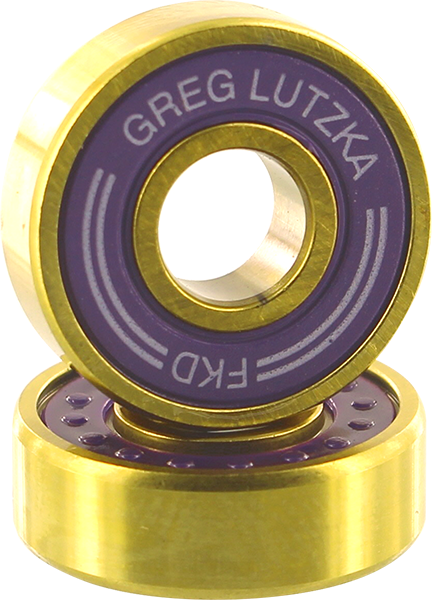 Fkd Lutzka Pro Gold Bearing Set Pur/Gold