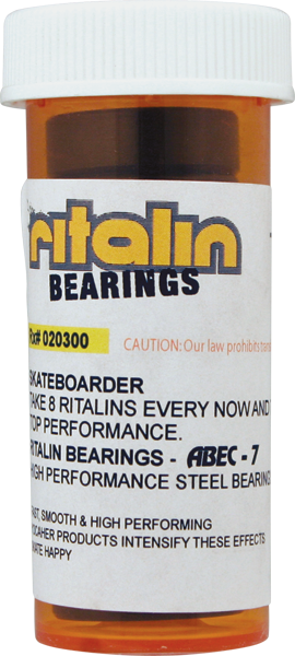 Ritalin Abec-5 Red Bearings Ppp