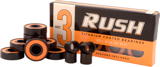 Rush Abec-3 Bearings W/Spacers Ppp