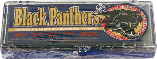 Shortys Black Panthers Abec-5 Single Set