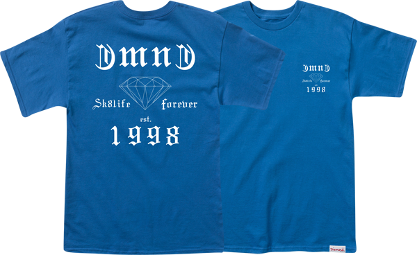 Diamond Skate Life Ss M-Royal