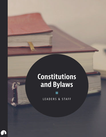 Constitutions and Bylaws