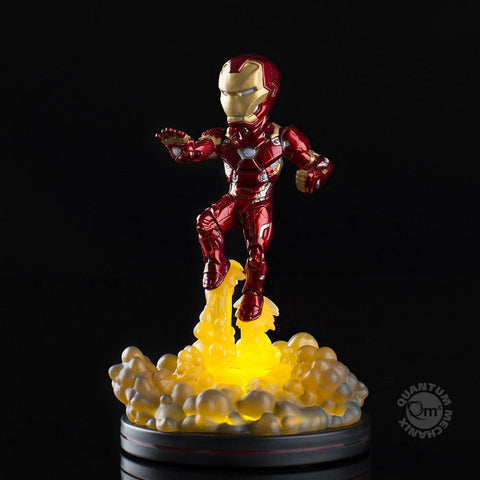 Iron Man Light-Up Q-Fig FX Diorama