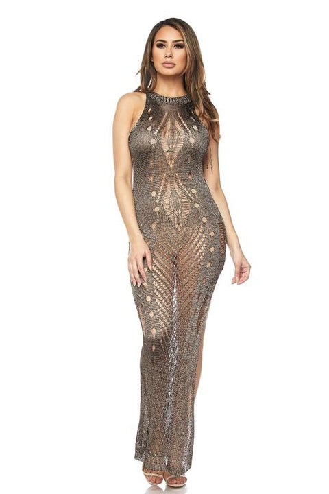 Better With You Metallic Cover Up - Swimsuits - Marsia