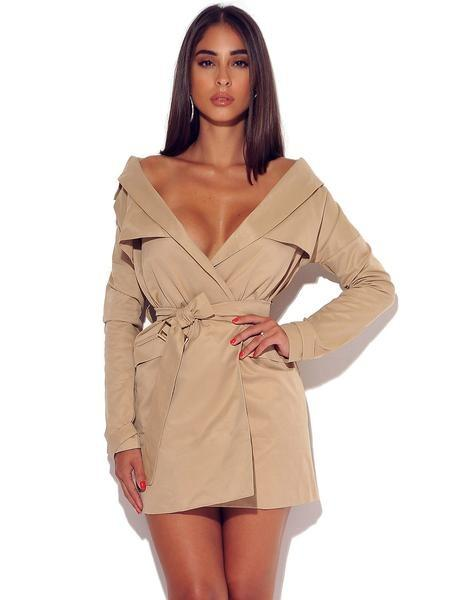 Ella Trench Dress - Dress - Marsia