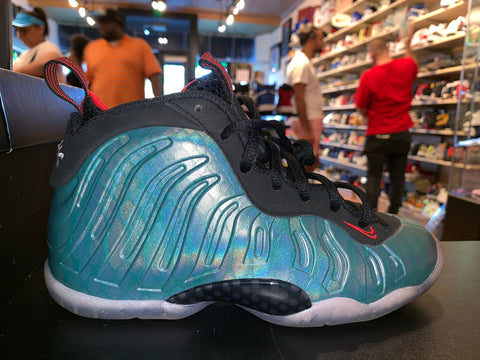 "Size 4Y Foamposite One ""Gone Fishing"""