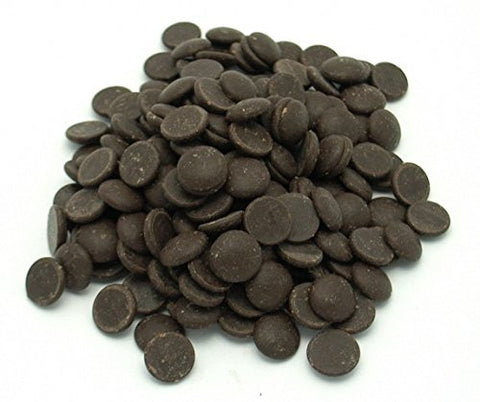 70% Cacao Wafers, Organic & Fair Trade, Gluten Free, Soy Free, Vegan - 12 Pounds