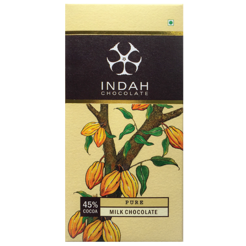 Indah Milk Chocolate - Pure - Indah Chocolate