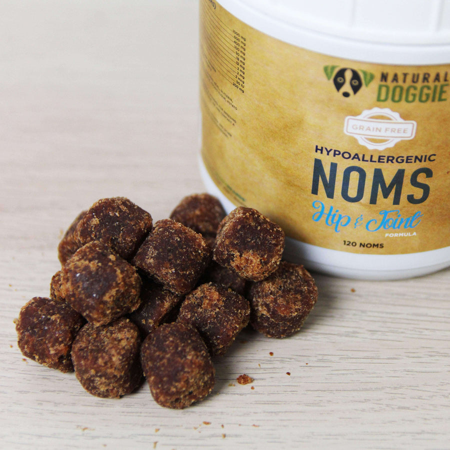 Natural Doggie Grain Free Hypo-allergenic Hip and Joint Dog Noms