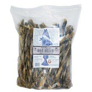 Polkadog Twisted Cod Skin, Single-Ingredient, Dog Jerky - SitStay
