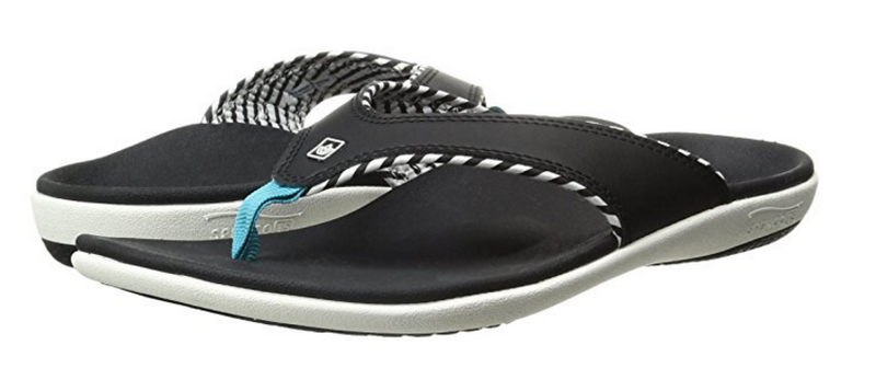 Spenco Women's Yumi Candy Stripe Flip Flop