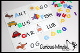 Preschool Busy Bag - Missing Letters - Busy Bag - Quiet Activity
