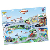 Travel Toy Bundle for Boys - Magnetic or Portable Activities for Children for Car and Airplane Travel